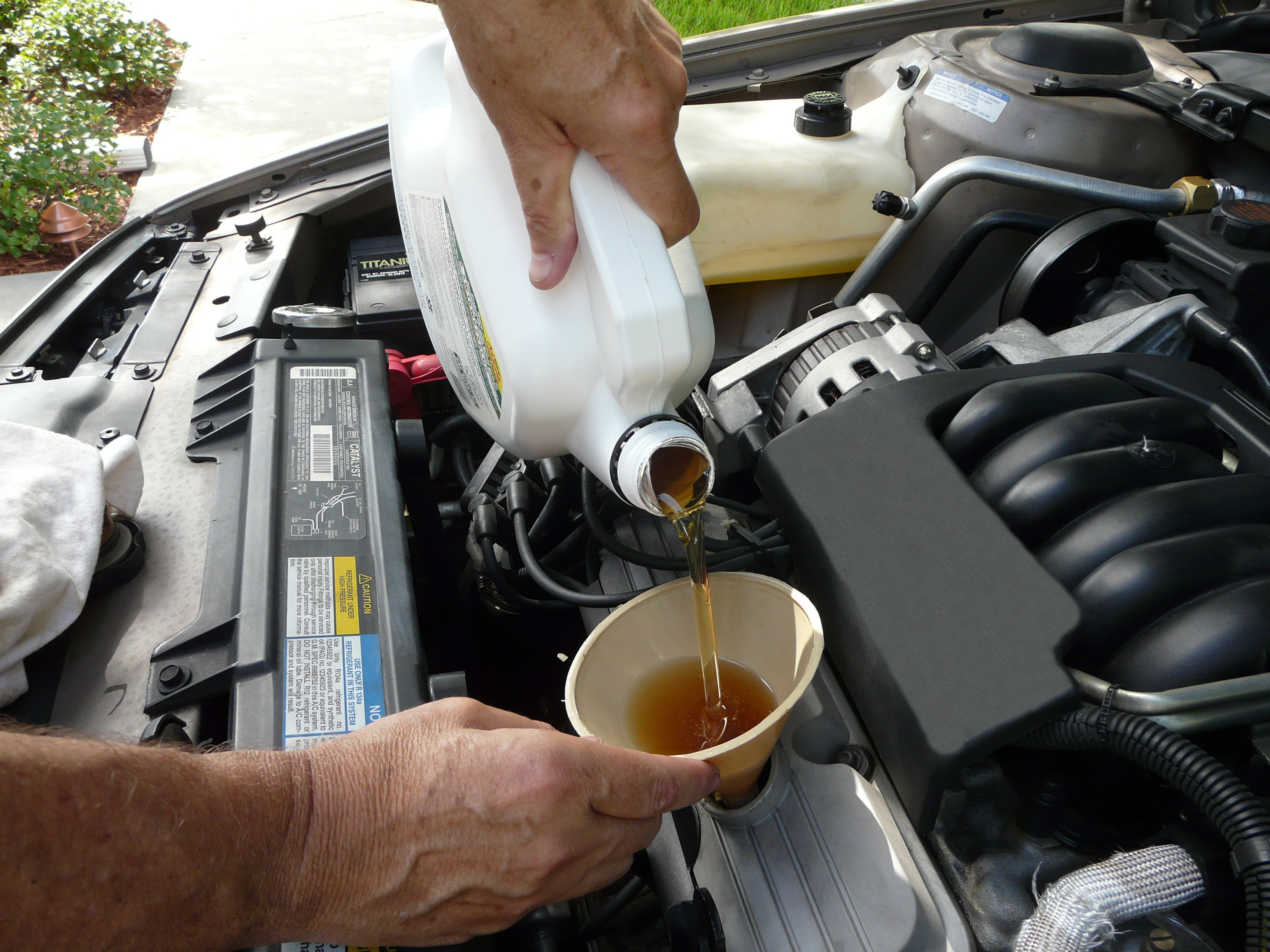 What does a 95 corvette have to do with integrated health for Motor oil for my car