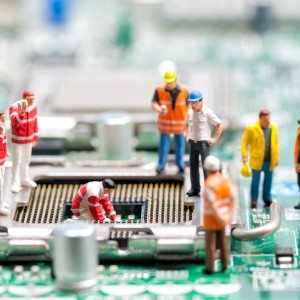 Team Of Engineers Repairing Circuit Board - Toronto Acupuncture Clinic